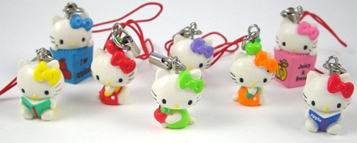 Love It or Leave It? Hello Kitty Cell Phone Charms