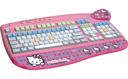 Love It or Leave It? Hello Kitty USB Keyboard