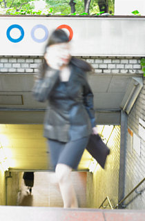 Train Flasher Caught On Camera Phone