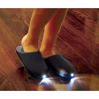 lighted slippers 1