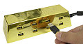 It's Gold, Solid Gold Baby: Thanko Gold Ingot USB Hub