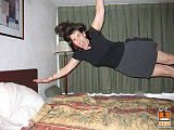 hotel bed jumping 8