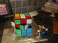Edible Geek: Rubik&#039;s Cube Cake