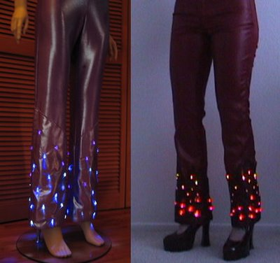 LED Flame Pants