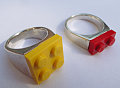 Totally Geeky or Geek Chic? Brickwall LEGO Ring