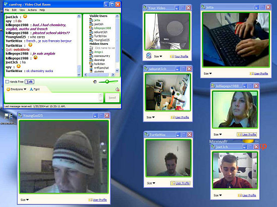 Download of the Day: Camfrog Video Chat