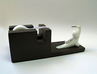 Totally Geeky or Geek Chic? Kung Fu Kids Tape Dispenser