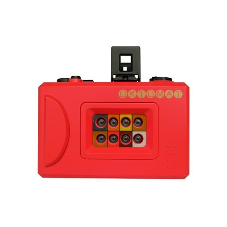 Totally Geeky or Geek Chic? Red Oktomat Camera
