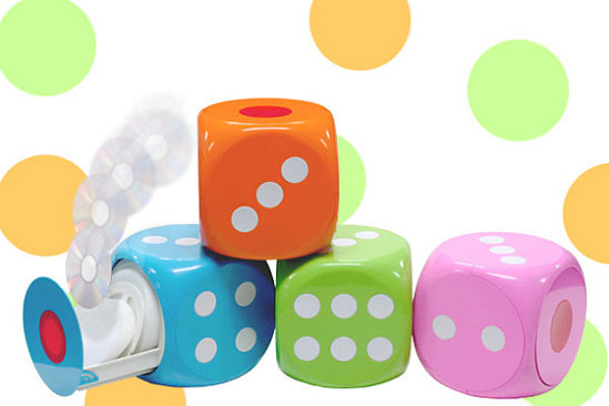 Love It Or Leave It: Dice CD Storage Rack