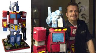 Tech News Roundup - Optimus Prime Birthday Cake