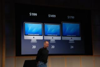 Steve Jobs Announces New iMacs