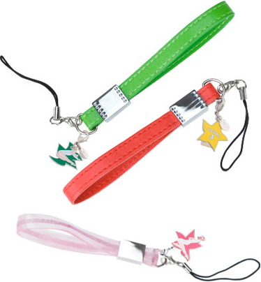 Love It or Leave It? Cell Phone Straps With Charm