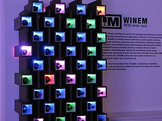 Wine RFID Rack: Totally Geeky Or Geek Chic?