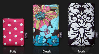 Fabrix Case Designs To Fit New iPod Models