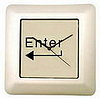 Enter Key Wall Clock: Totally Geeky or Geek Chic?
