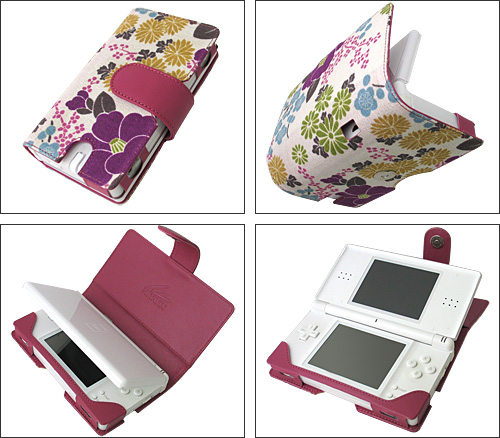 The Miyabi Line of DS Lite Cases From Vis-a-Vis