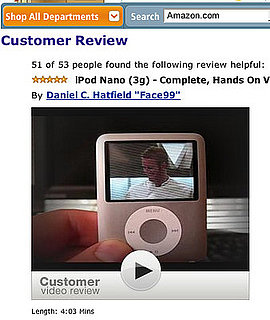 Amazon Introduces Customer Video Reviews