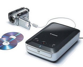 The Canon DW-100: Portable DVD Burning Made Easy
