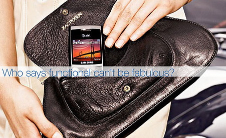 The Zac Posen Samsung Clutch and Samsung for AT&T Cell Phone Goes To. . .