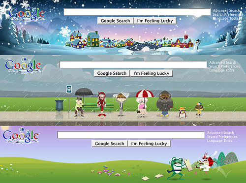 Sing We Joyous! iGoogle Gets More Themes!