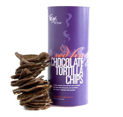 Vosges' Red Fire Tortilla Chips
