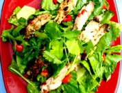 Monday's Leftovers: Simple Grilled Chicken Salad