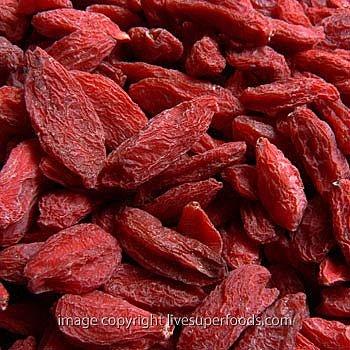 Organic Sun-Dried Goji Berries - Live SuperFoods