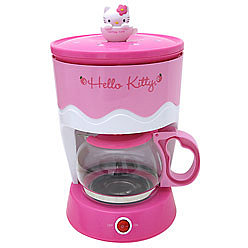 Hello kitty: Coffee maker!