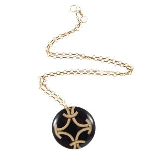 Hollie Ten Deco Disc Necklace