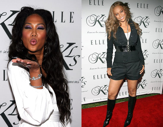 Kimora Lee and Tyra Are Red Carpet Fierce