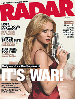 Okay, Who Gave Lohan the Firearm?