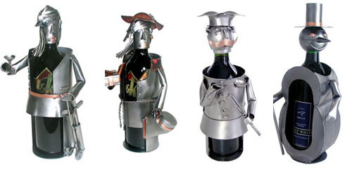 Steel Wine Clothed Sculptures: Love It Or Hate It?
