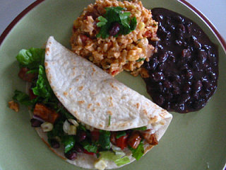 Fast & Easy Dinner: Black Bean Tacos