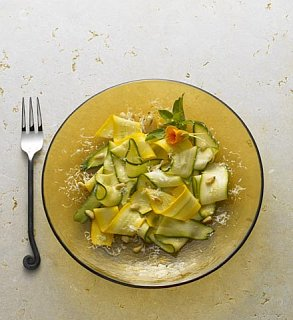 Inspired Side: Salad With Zucchini & Pecorino