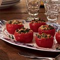 Provencal Side: Stuffed Tomatoes