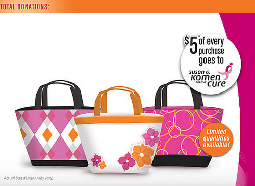 Carry Your Lunch in a Tote for the Cure