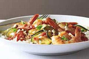 Fast & Easy Dinner: Shrimp Skillet