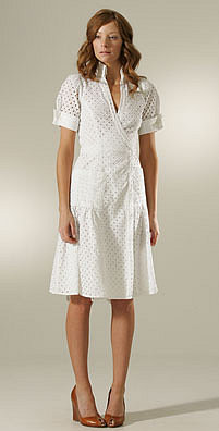 On Sale: Diane von Furstenberg Eyelet Bellette Wrap Dress