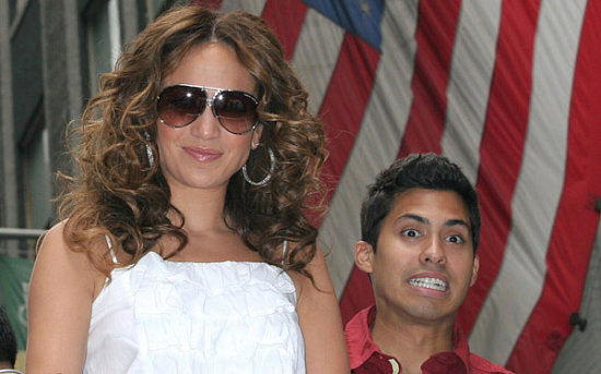 Jennifer Lopez looking cute at the PR Parade June 10.