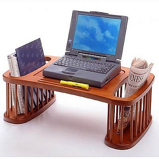 Wood Bed Desk