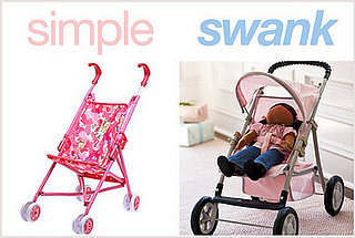 Simple or Swank: Doll Strollers