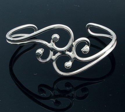 Etsy :: Solid Nickel Silver Bracelet