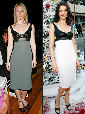 WHO WORE IT BEST: CLAIRE DANES OR RACHEL WEISZ
