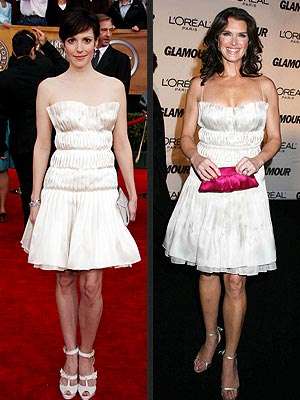 WHO WORE IT BEST:  MARY-LOUISE PARKER OR BROOKE SHIELDS