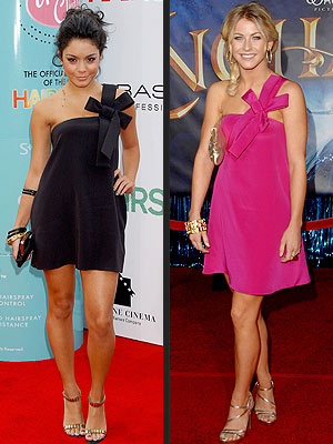WHO WORE IT BEST: VANESSA HUDGENS OR JULIANNE HOUGH