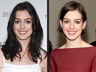 ANNE HATHAWAY: LONG OR SHORT HAIR?