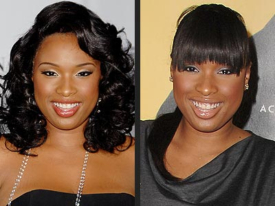 JENNIFER HUDSON: BANGS OR NO BANGS?