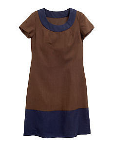 Fall Looks for Work:: Colourblock Wool Dress at Boden