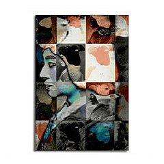 Geisha Urban Neutrals Pop Rectangle Magnet > CafePress
