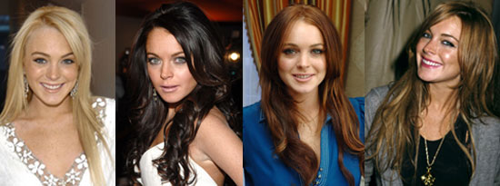 Lindsay Lohan's Hair Color